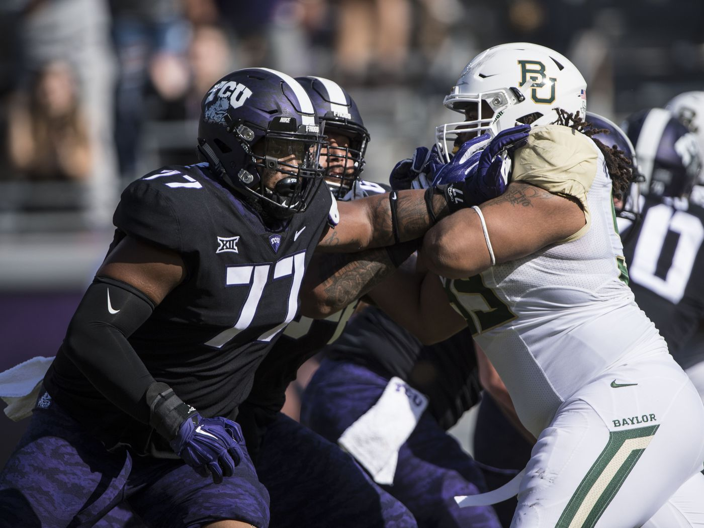 b0563f08f9 TCU Football Preview  The Offensive Line has been the surprise of camp