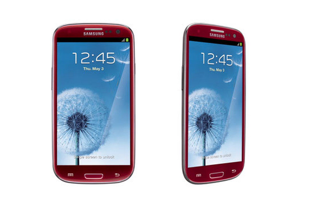 AT&T Red Galaxy S III