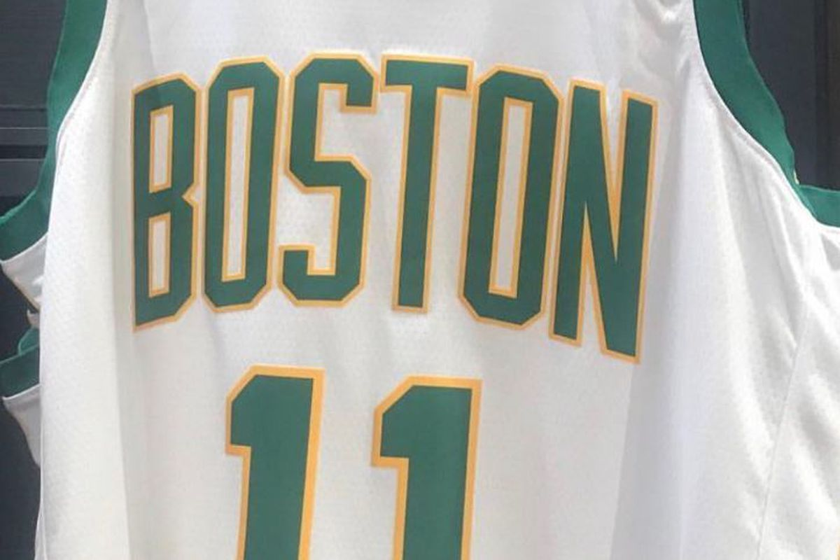 "1ee8ffc00 Report  These are the ""City"" jerseys the Boston Celtics will wear ..."