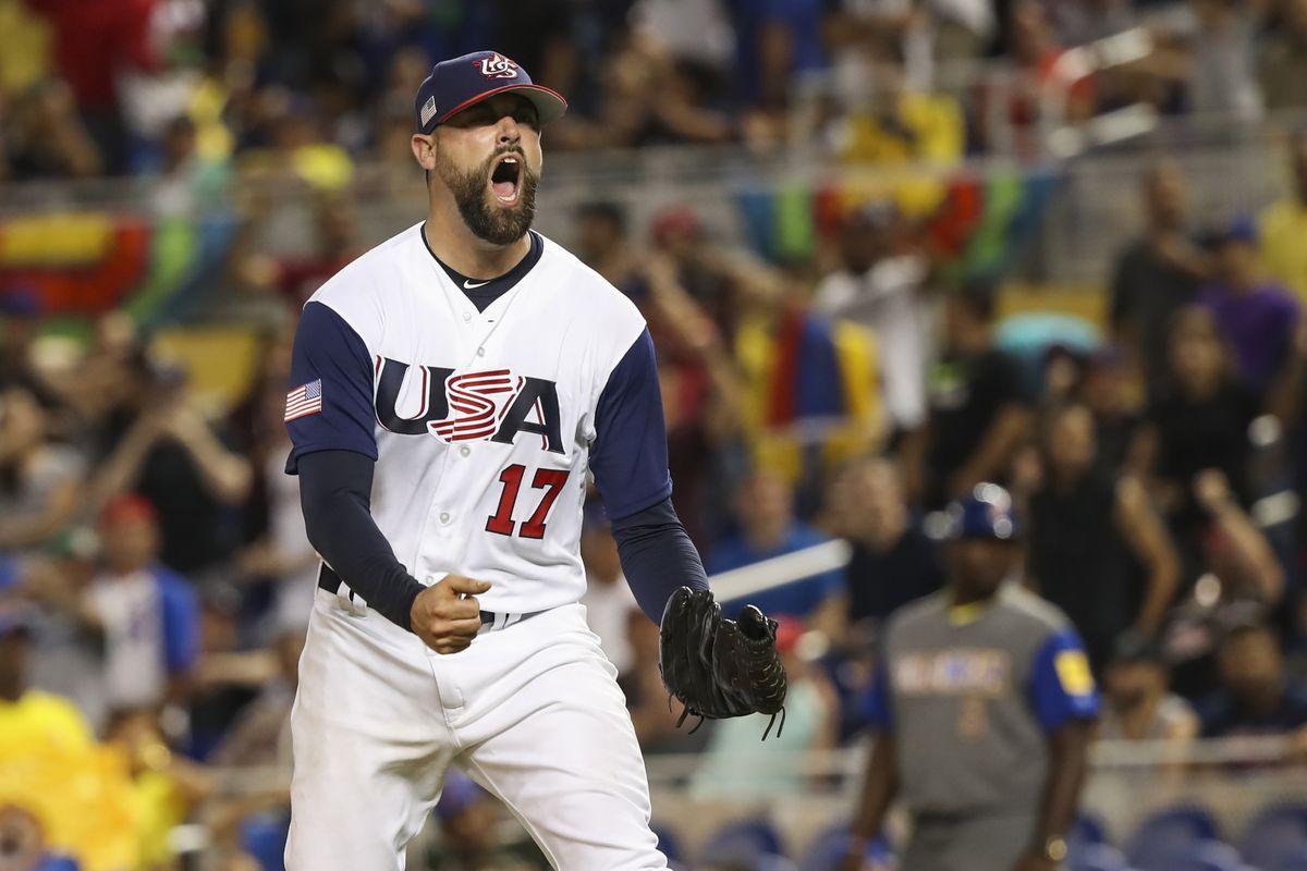 Baseball: World Baseball Classic-Colombia at USA