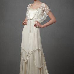 "<a href=""http://www.bhldn.com/shop-the-bride-wedding-dresses-lace/lita-gown/productoptionids/fbcaeb8b-b90b-4e9a-9313-32da085940dd"">Lita Gown</a>: $300 (originally $2,400)"