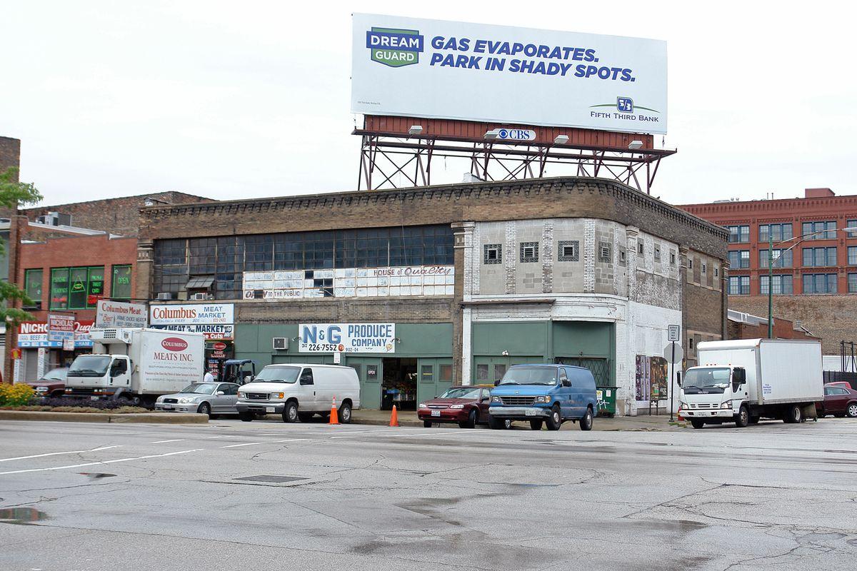 The site of Rick Bayless' Randolph Street restaurant