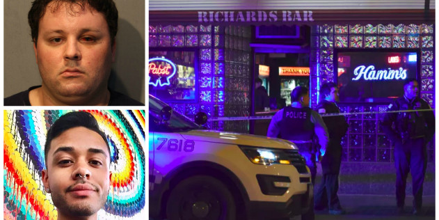 Richard's Bar victim jumped suspect, threatened to 'kick his ass' before he was stabbed in the back, prosecutors say