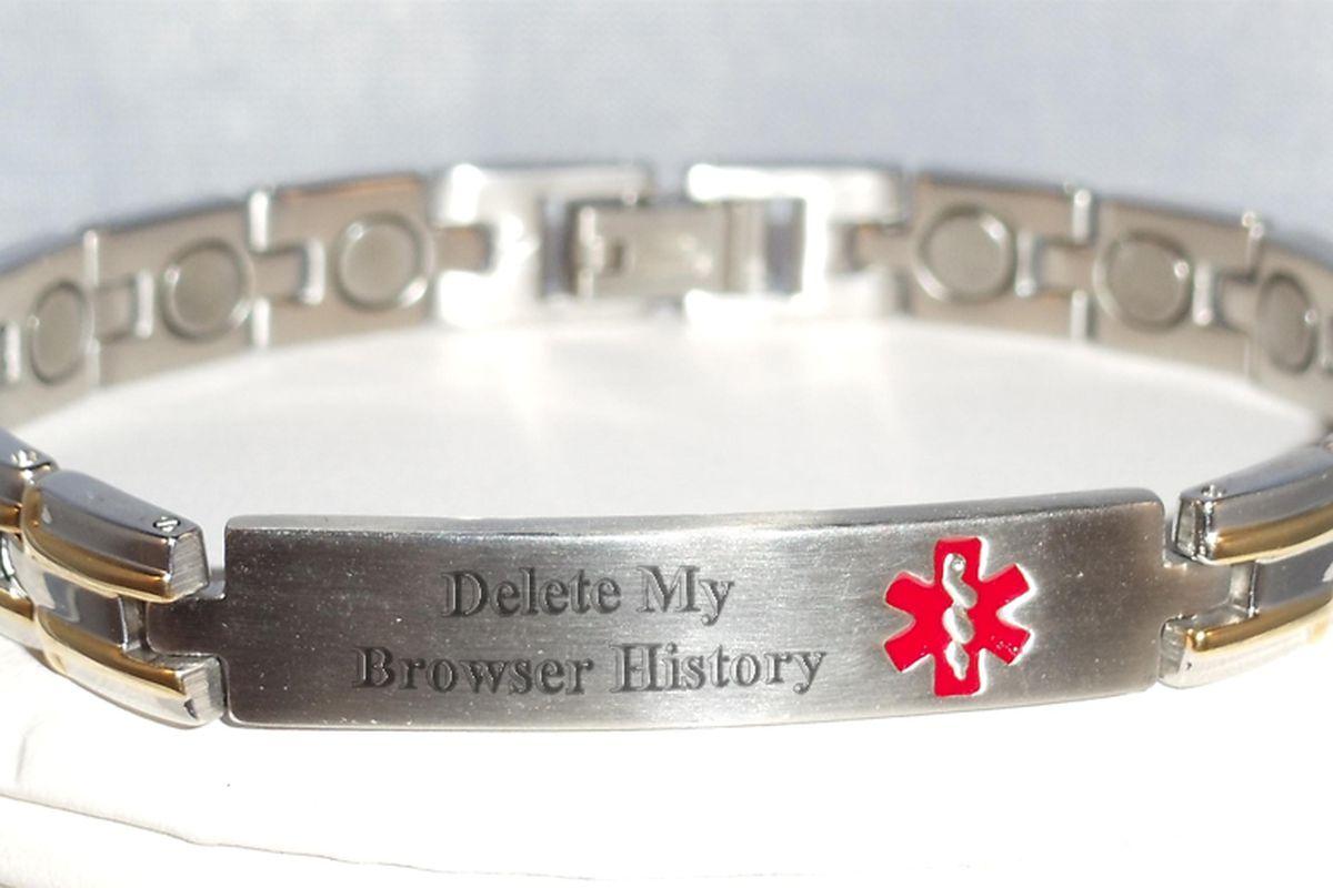 medical browser bracelet