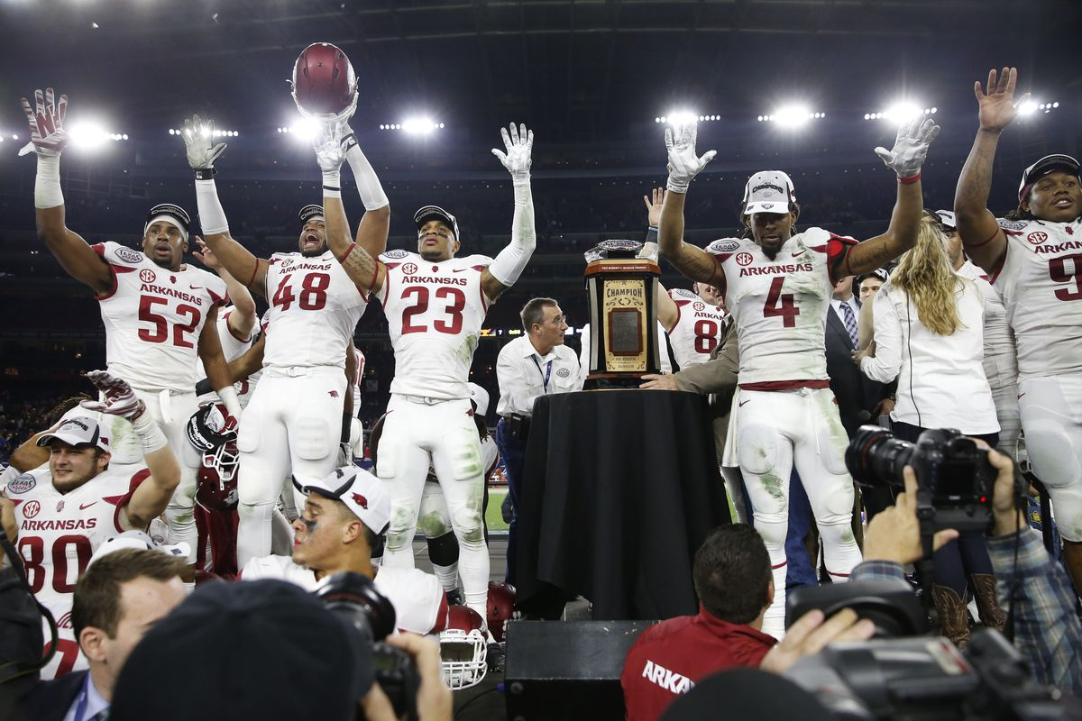 Arkansas to the Big 12 makes too much sense for it not to be at least looked at.