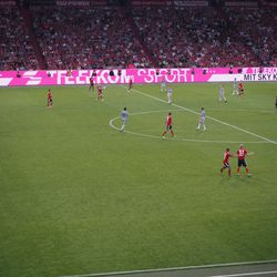 Basti spread the ball around the pitch like he did in his prime.