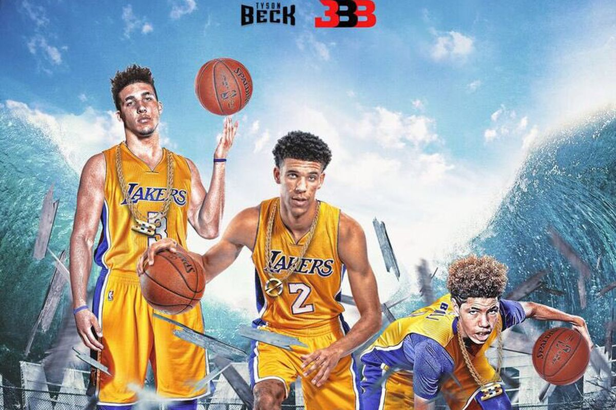 Big Baller Brand Is Photoshopping The Entire Ball Family As
