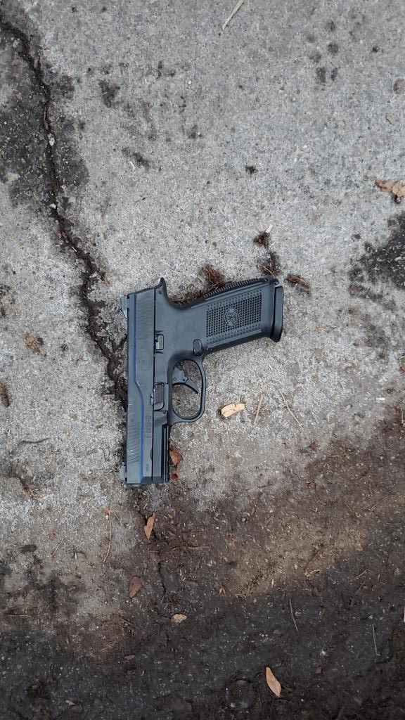 Chicago police recovered a gun after fatally shooting someone who allegedly shot another person and fired at officers Feb. 9, 2020, in the 3600 block of North Ashland Avenue.