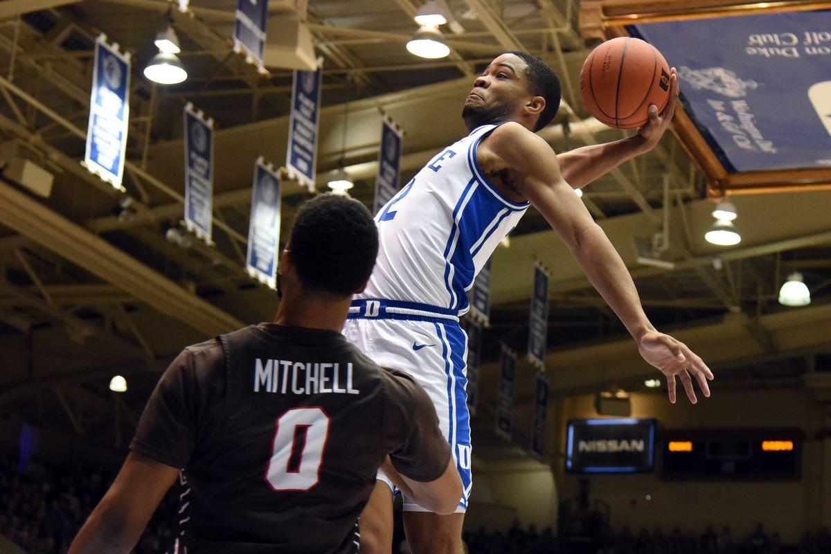 NCAA Basketball: Brown at Duke
