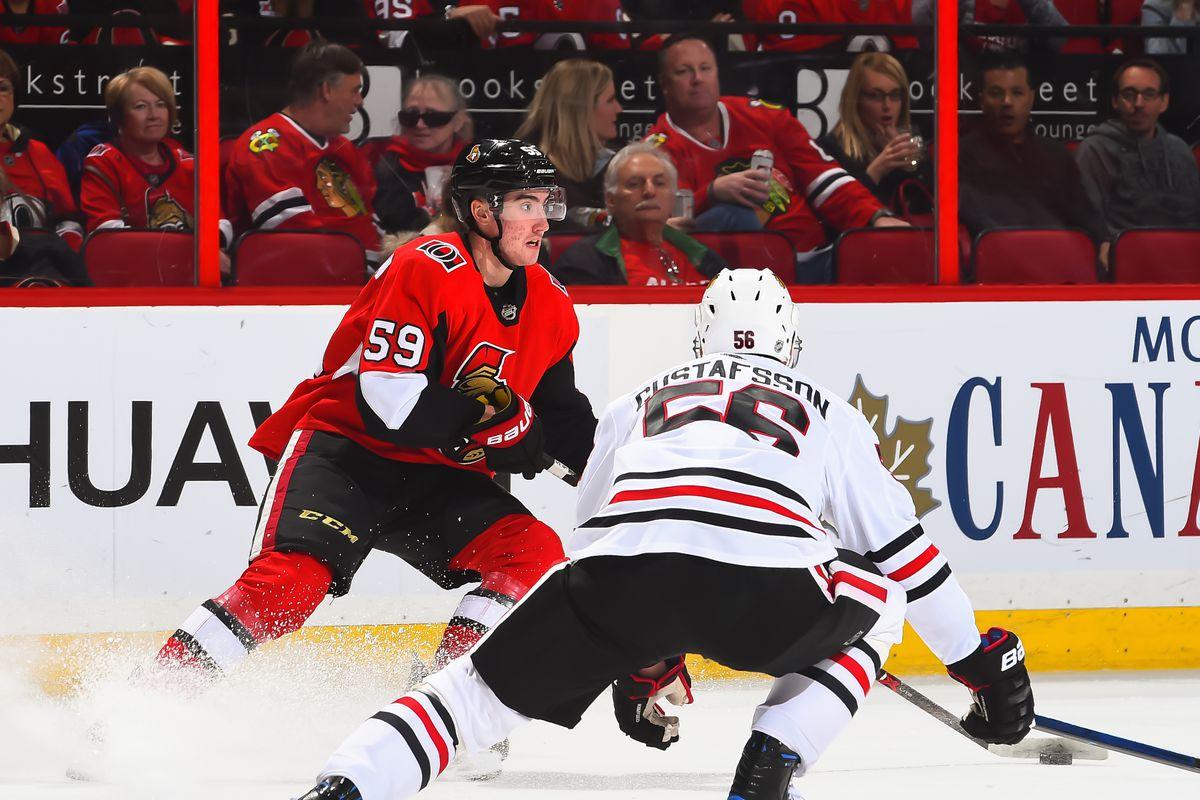 Chicago Blackhawks v Ottawa Senators