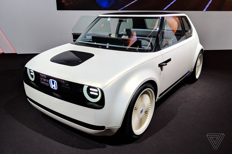 Hondas Urban EV Concept Is Even More Adorable In The Flesh
