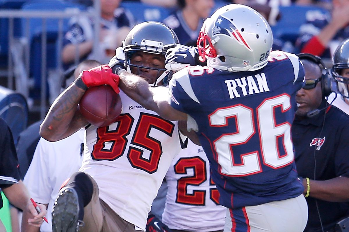 Logan Ryan has potential but he's not an equal substitute for Aqib Talib.