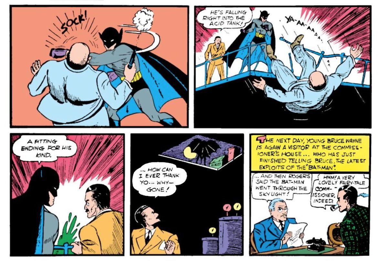 From Detective Comics #27, DC Comics (1938).