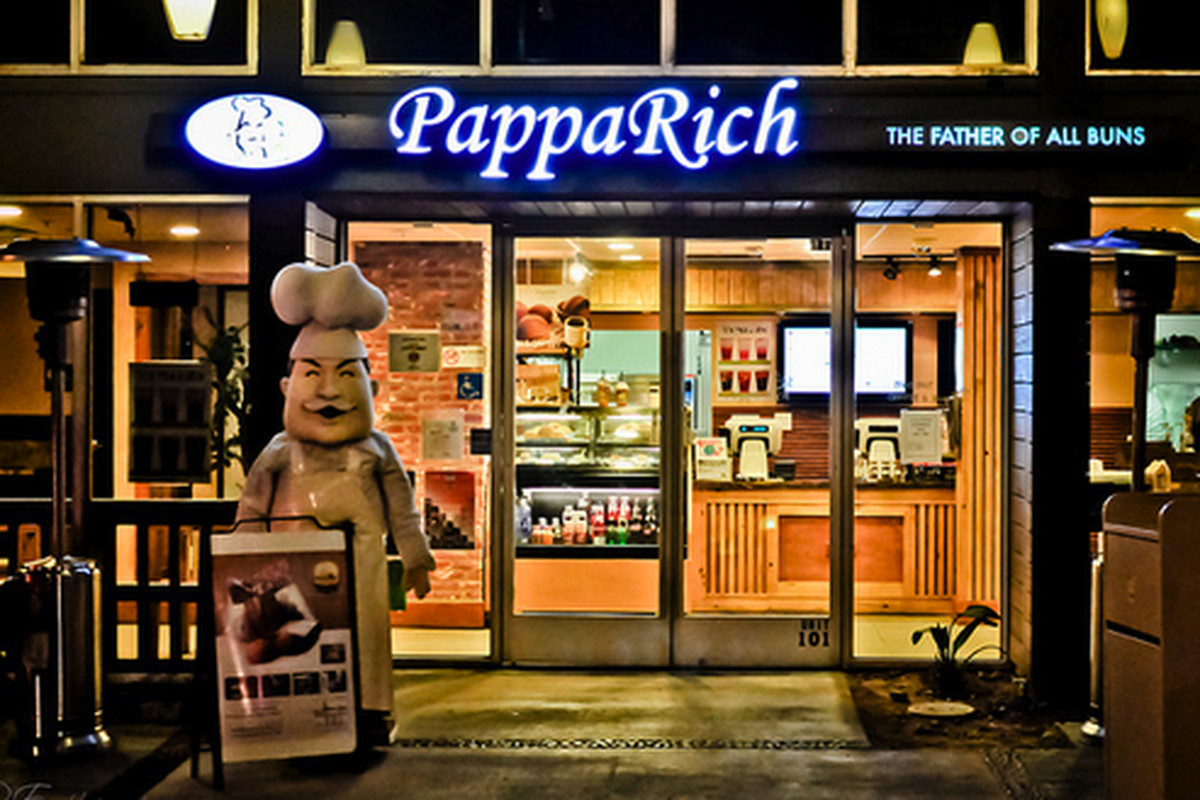 PappaRich, the father of all buns, Pasadena.