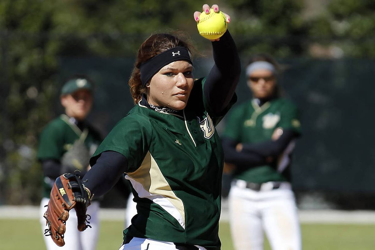 Sara Nevins picked up the only win of the weekend for the USF softball team at DePaul.