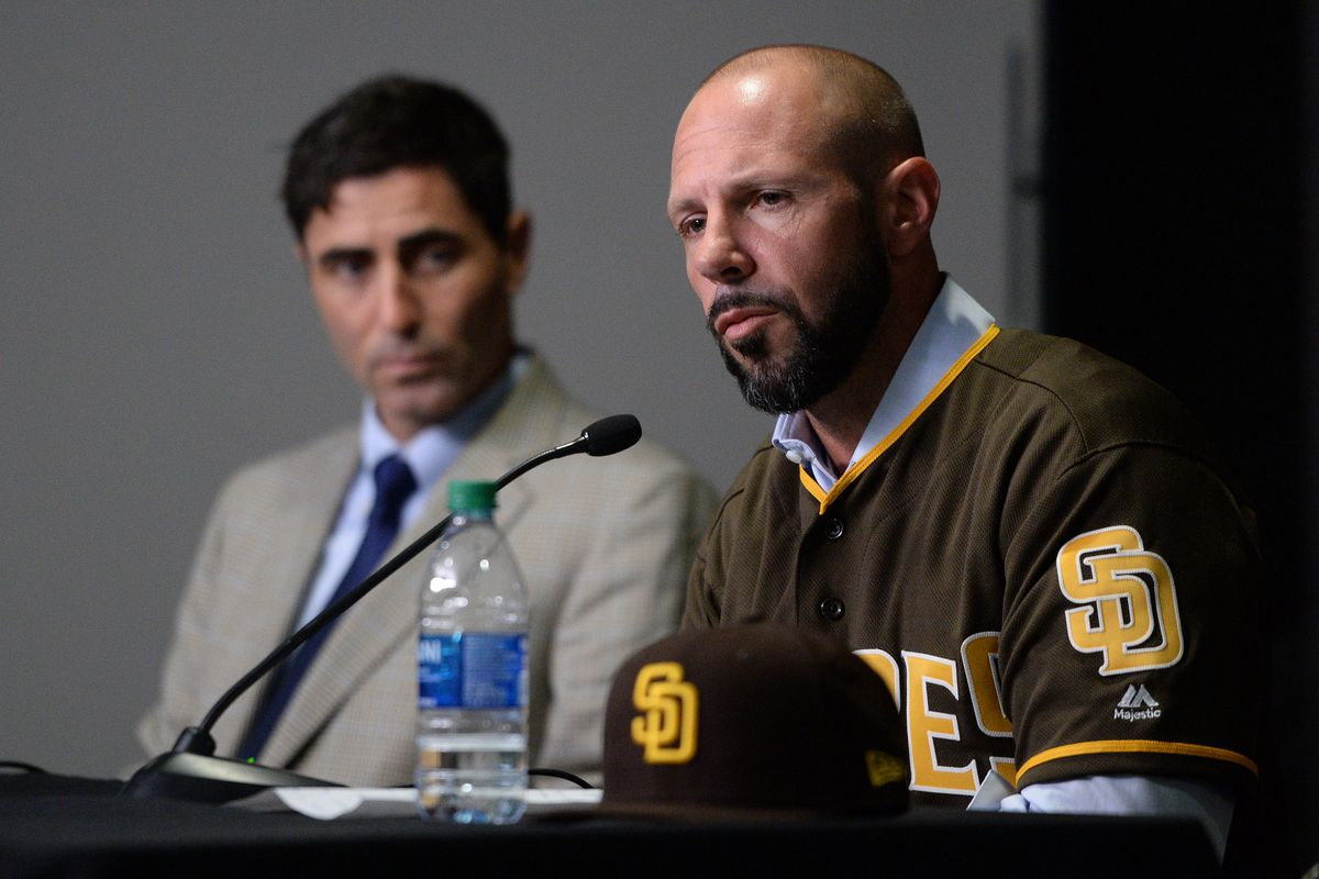 MLB: San Diego Padres-Press Conference
