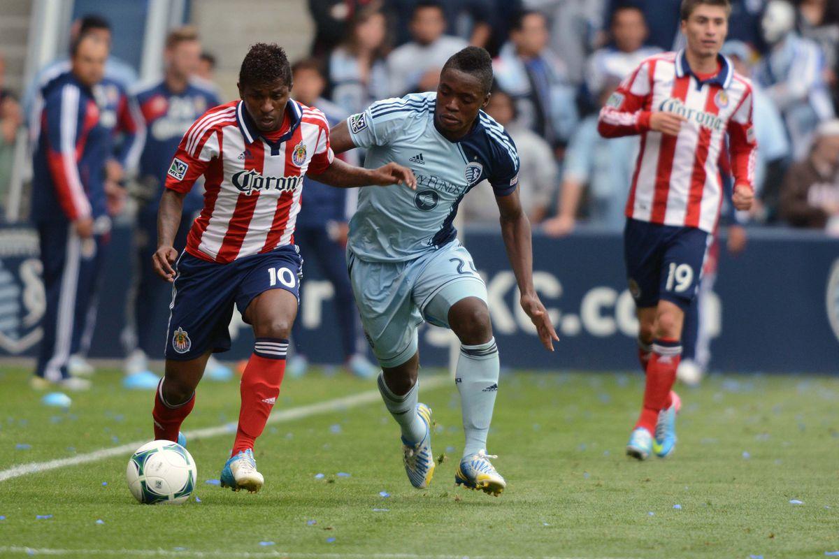Sporting KC waived Mechak Jerome