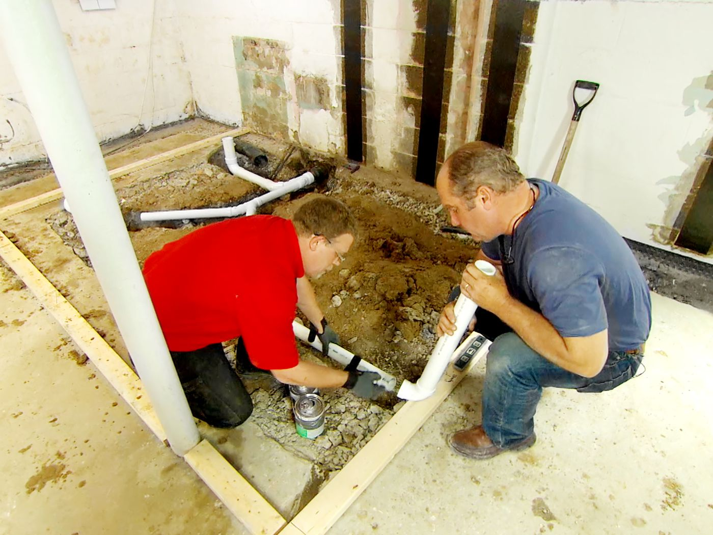 How To Install A Basement Bathroom This Old House