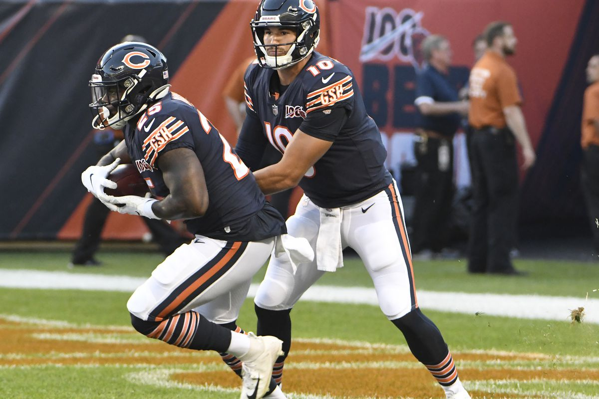 Idle QB Mitch Trubisky has Packers in his sights