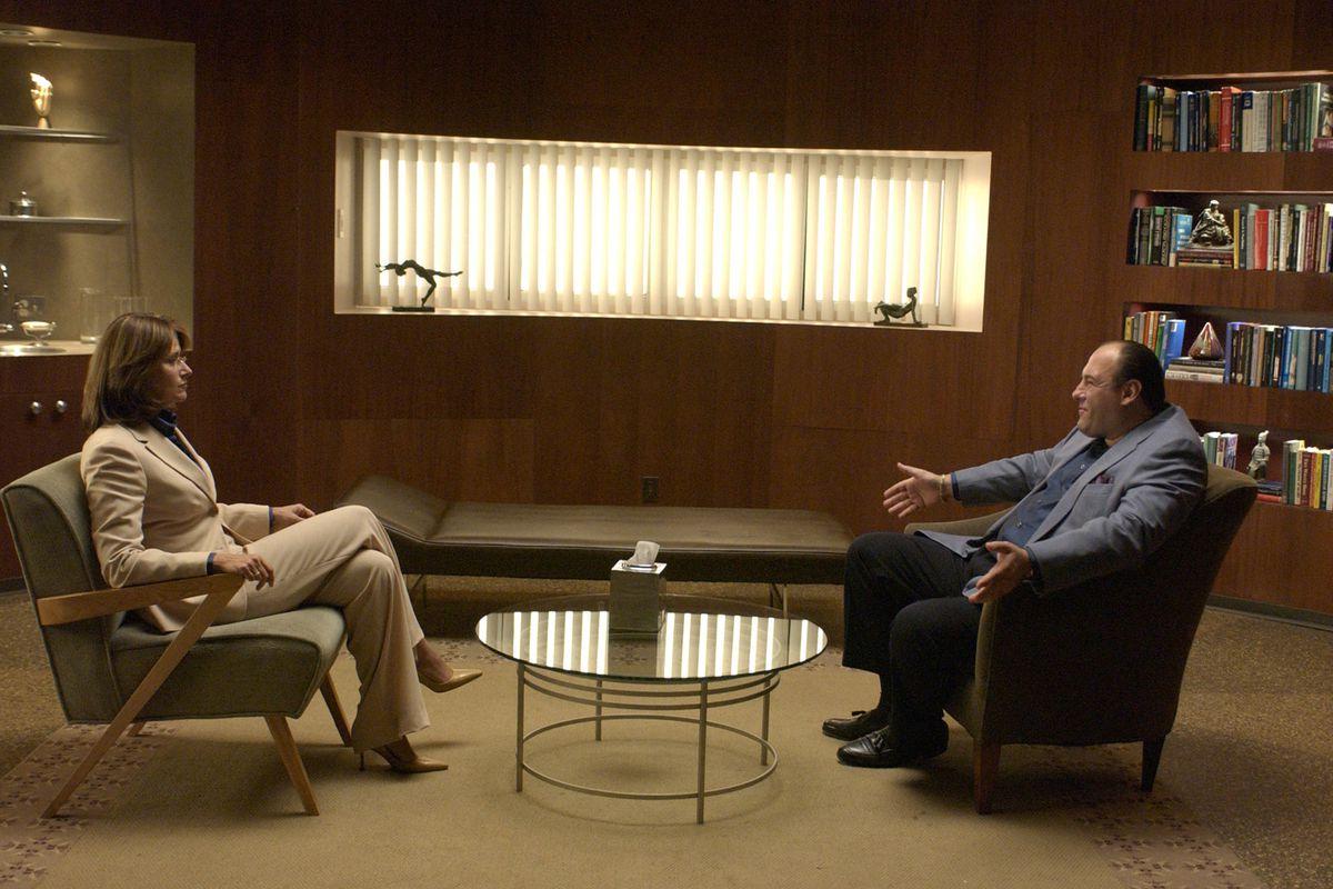 Lorraine Bracco and James Gandolfini's therapy scenes were at the heart of The Sopranos.