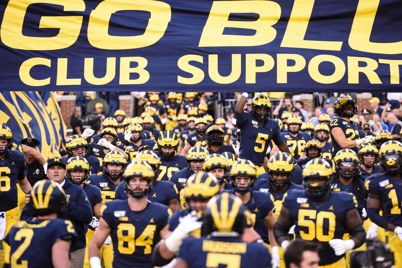 Michigan Football More Hustle Toughness Necessary Maize N Brew