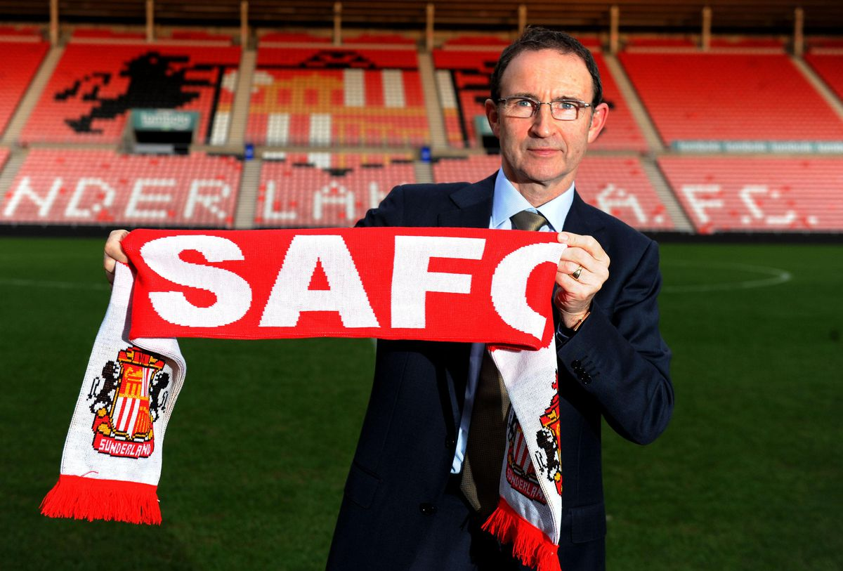 Soccer - Sunderland Press Conference - Martin O'Neill Unveiling - Stadium of Light