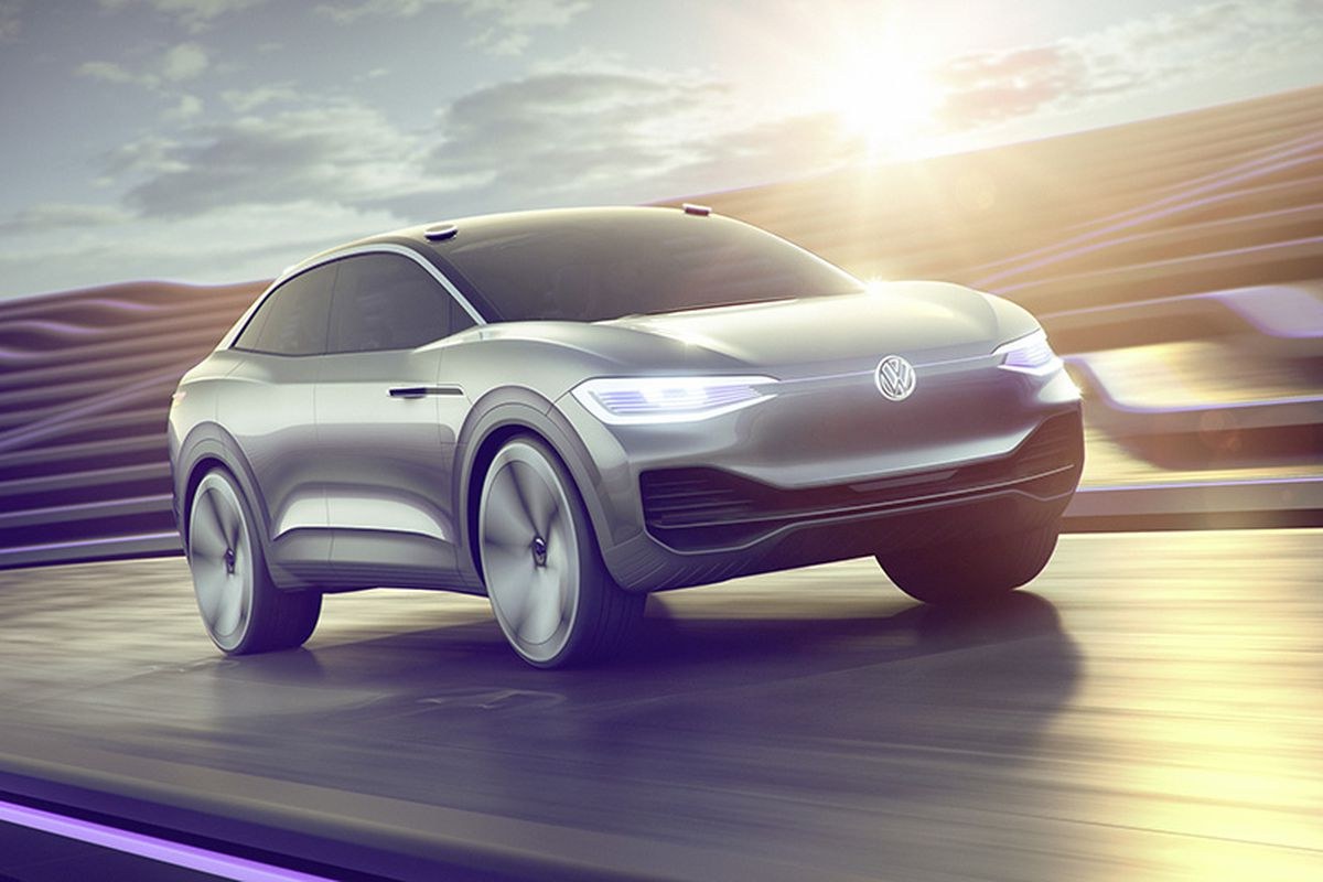 Volkswagen S I D Crozz Is A Sharp Electric Concept With Terrible Name