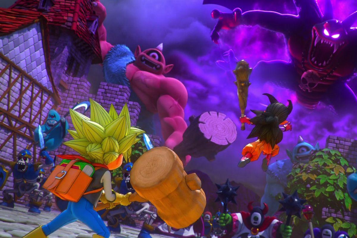 Dragon Quest Builders 2 and Breath of the Wild's recipe for fun