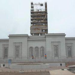 The Trujillo Peru Temple is still under construction.
