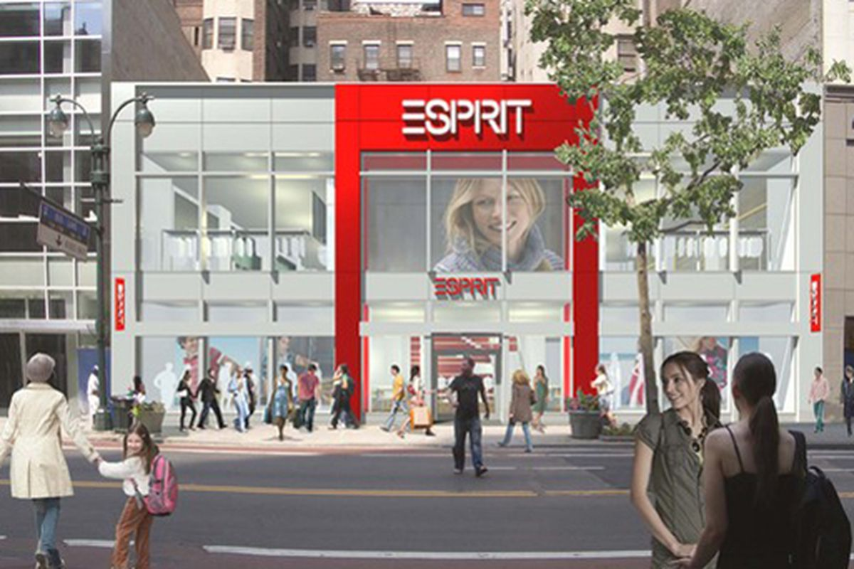"""Esprit rendering via <a href=""""http://www.wwd.com/business-news/huge-stores-to-open-on-34th-street-2339236?browsets=1255105039397"""">WWD</a>"""