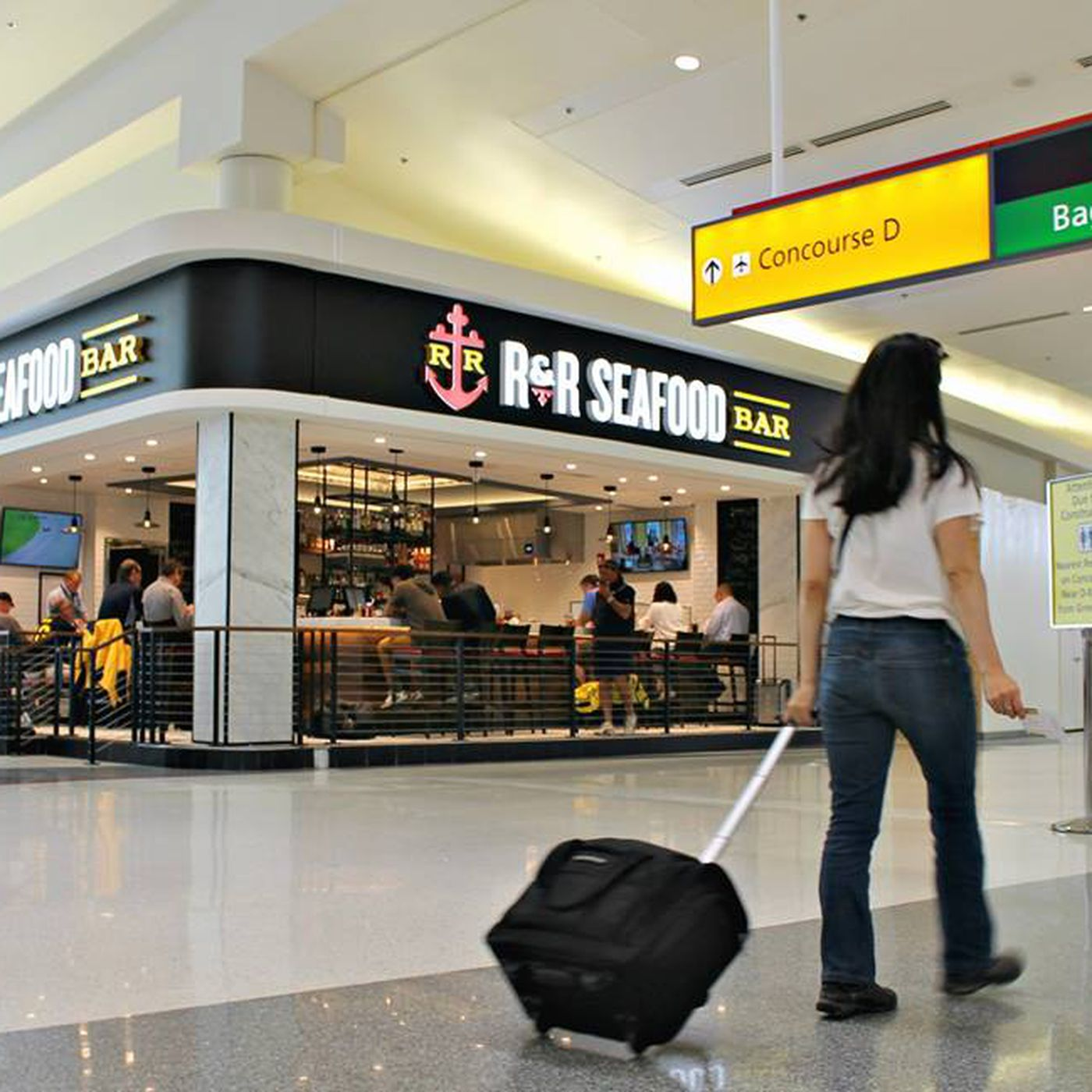 Where To Eat And Drink At Baltimore Washington International Airport Bwi Eater Dc