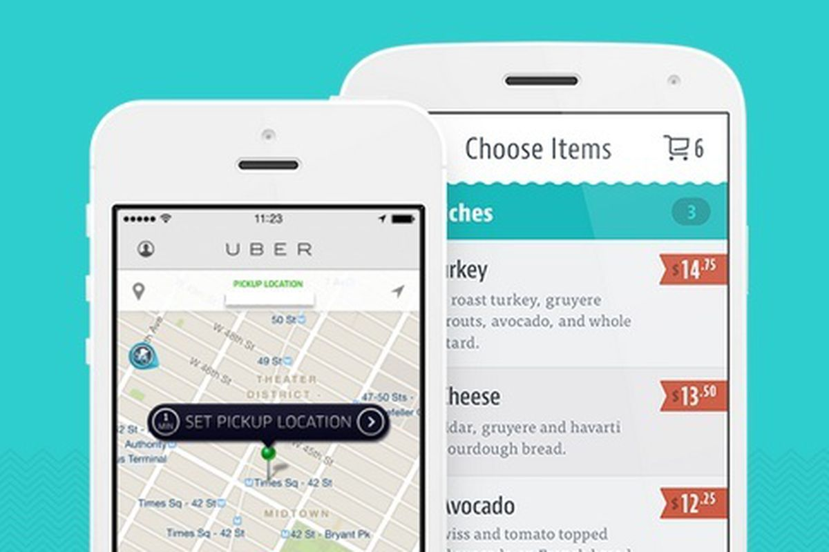 Chownow Partners With Uberrush To Offer Food Delivery Eater
