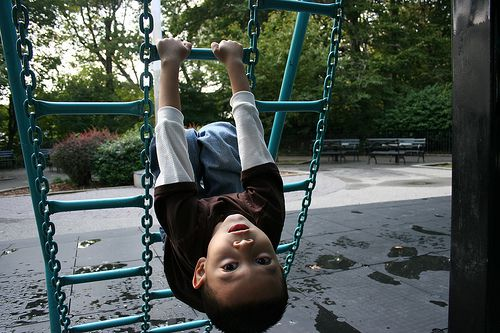 A child at play. Photo by ##http://www.flickr.com/photos/admiretime/##admiretime##, via Flickr