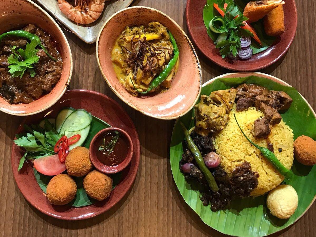 Sri Lankan spread at Virundhu, Pinner, one of the best Sri Lankan restaurants in London