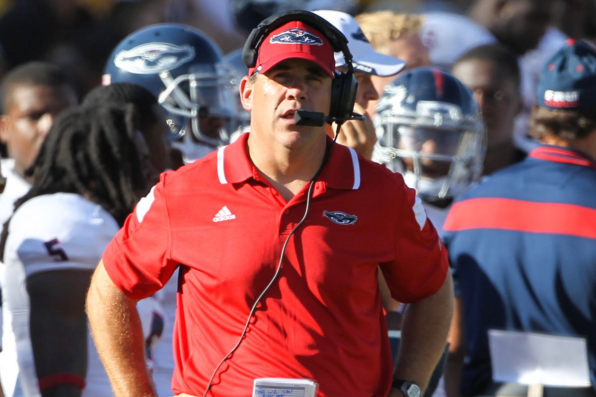 Charlie Partridge is 3-12 in two years as FAU's head coach.