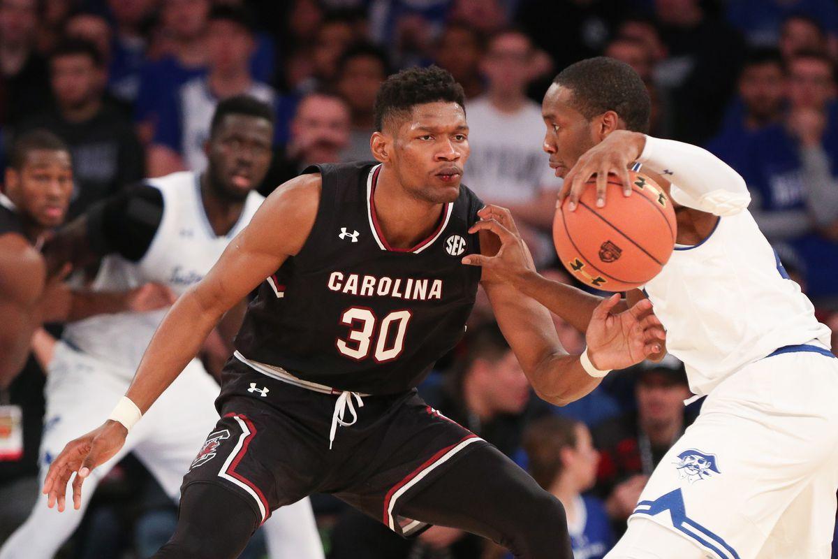 NCAA Basketball: South Carolina at Seton Hall