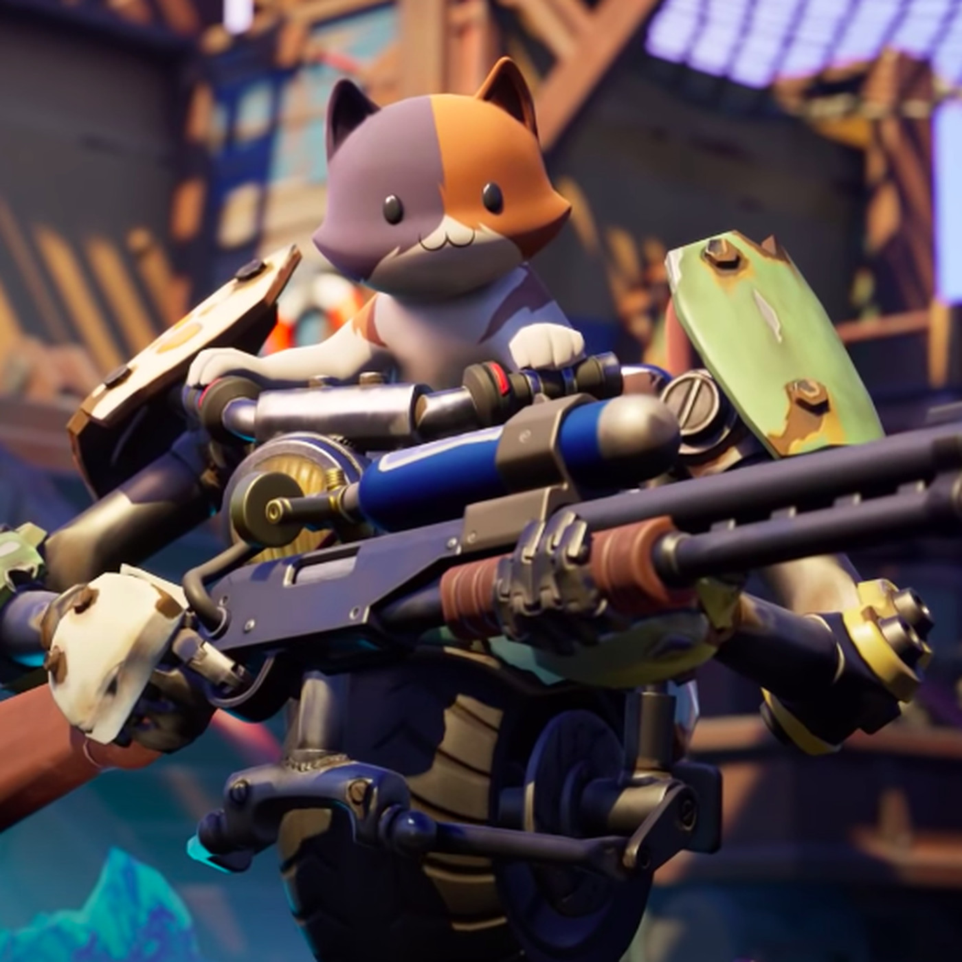 Fortnite Chapter 2 Season 3 Has Flooded The Battle Royale Island The Verge