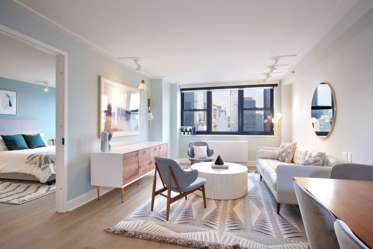 Inside the Murray Hill Marquis, LeFrak\'s hotel-to-rental conversion ...