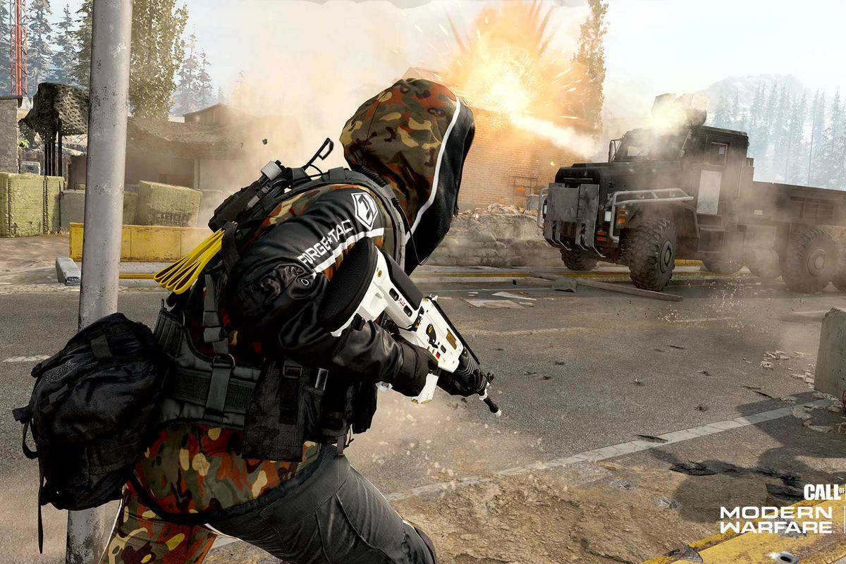 Call of Duty: Warzone's Recon: Armored Royale mode which has giant armored trucks