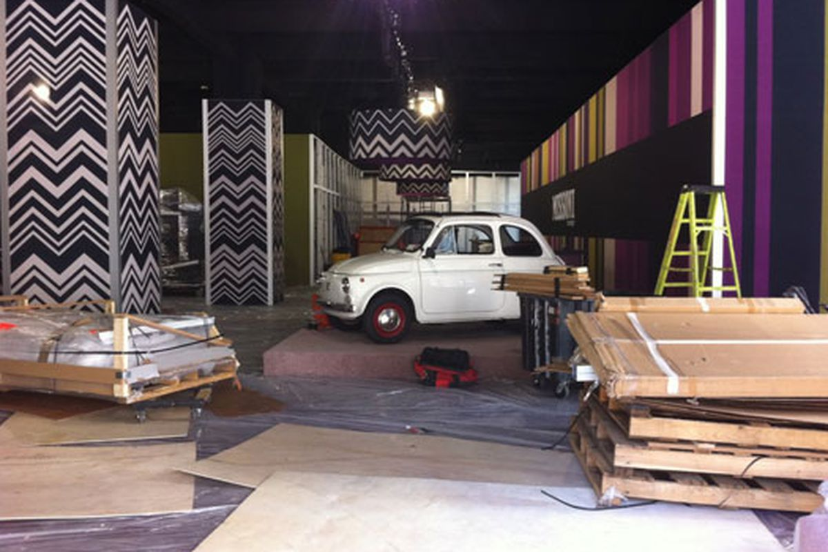 """Image via <a href=""""http://thejetshopper.com/2011/09/02/missoni-x-target-pop-up-outfitted-with-a-car/"""">The JetShopper</a>"""