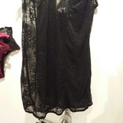 Jenna Leigh black nightie, available in size S, $34