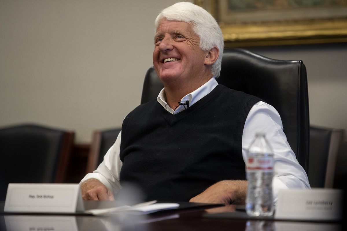 Rep. Rob Bishop pictured her in 2019.