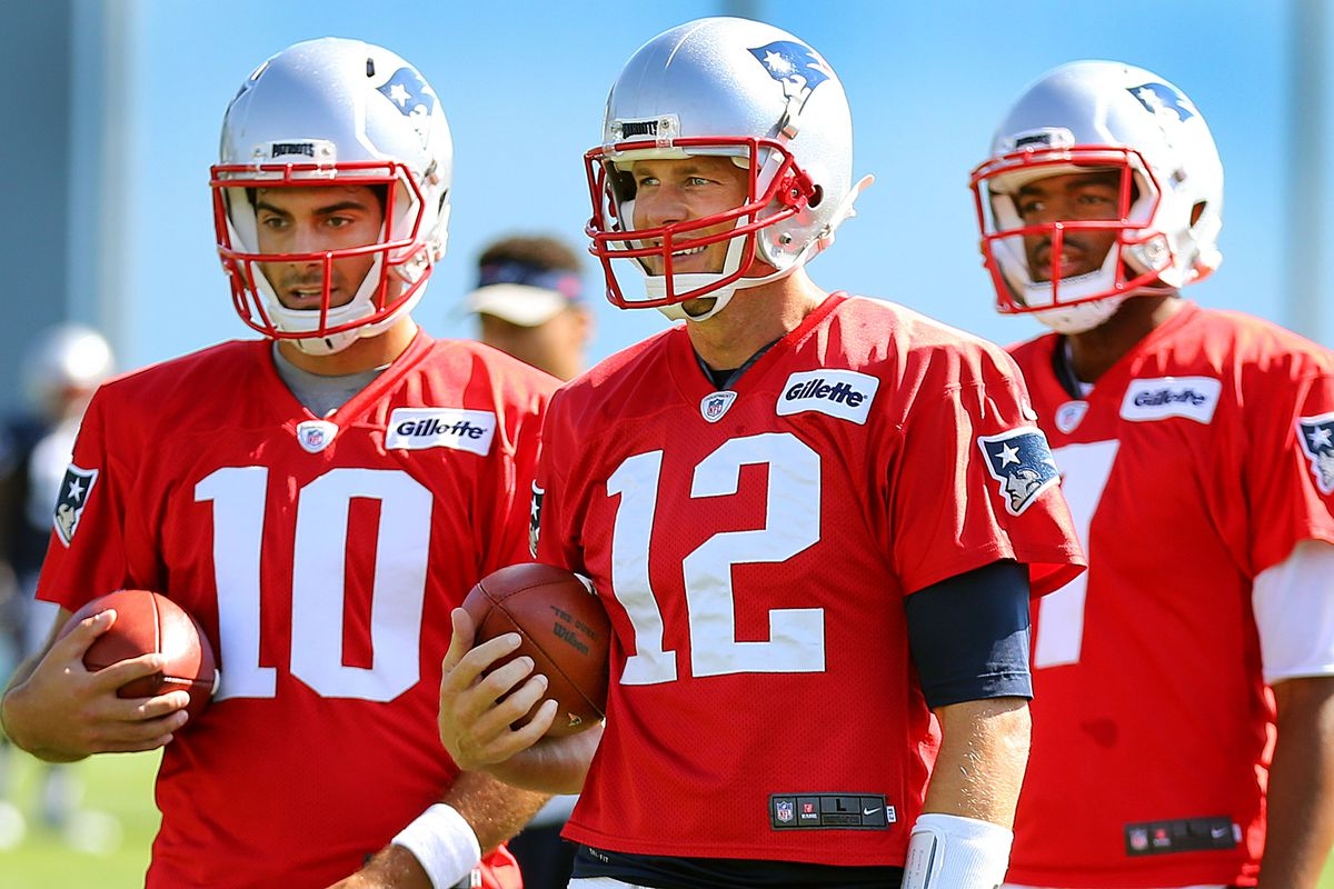 Second Day Of New England Patriots Training Camp