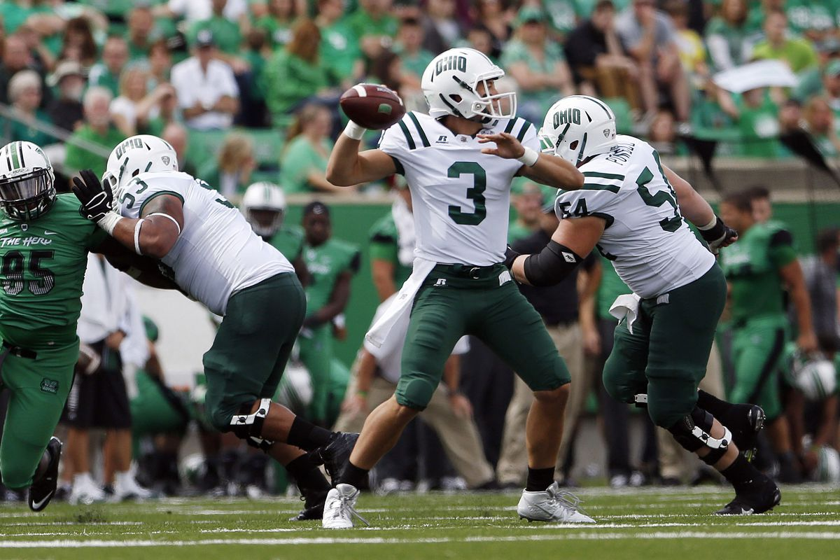 Ohio took to the field for Ohio's spring game that pitted Ohio's offensive groups against its defensive crew.