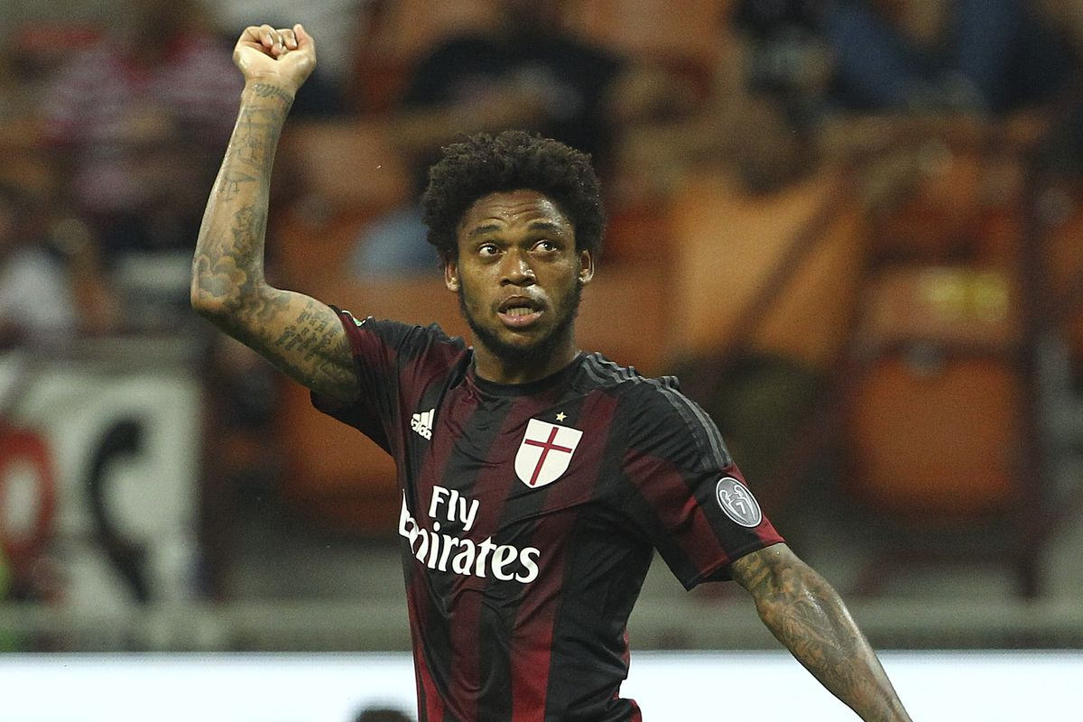 Luiz Adriano missed several great chances to get Milan on the scoreboard Sunday against Inter in the first derby of the season.