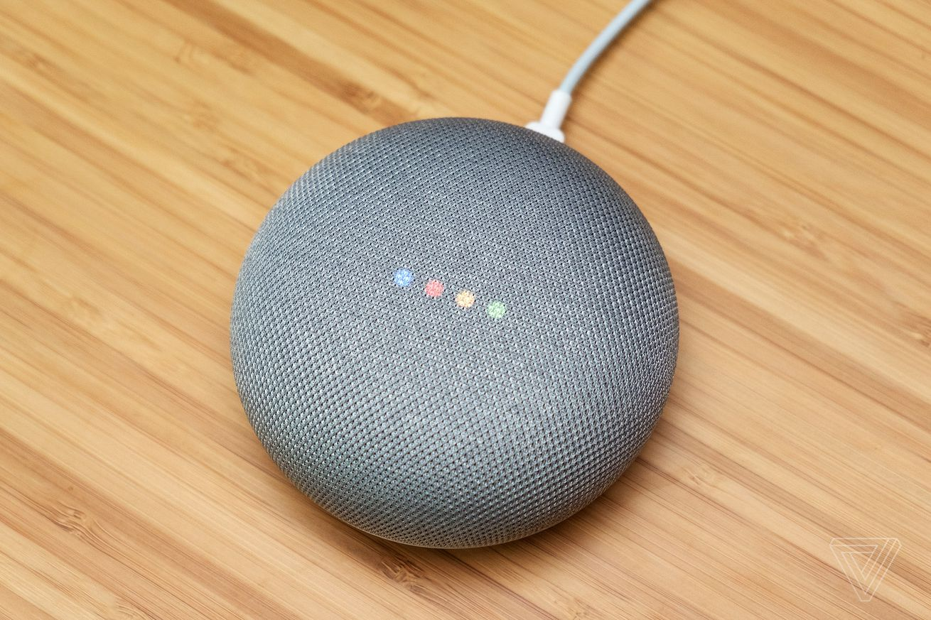 google sold over 6 million home speakers since mid october