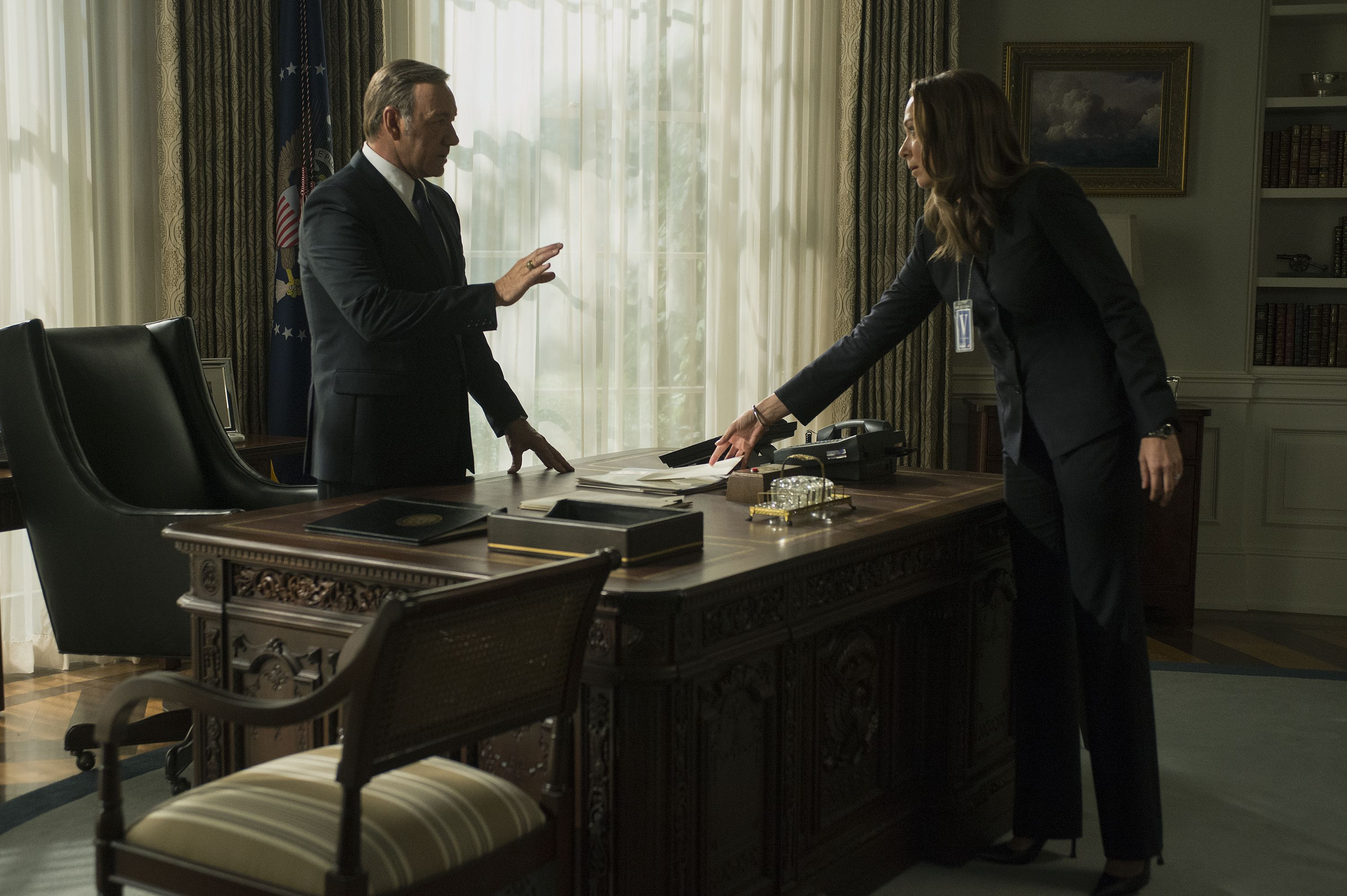 House of Cards S3 promo