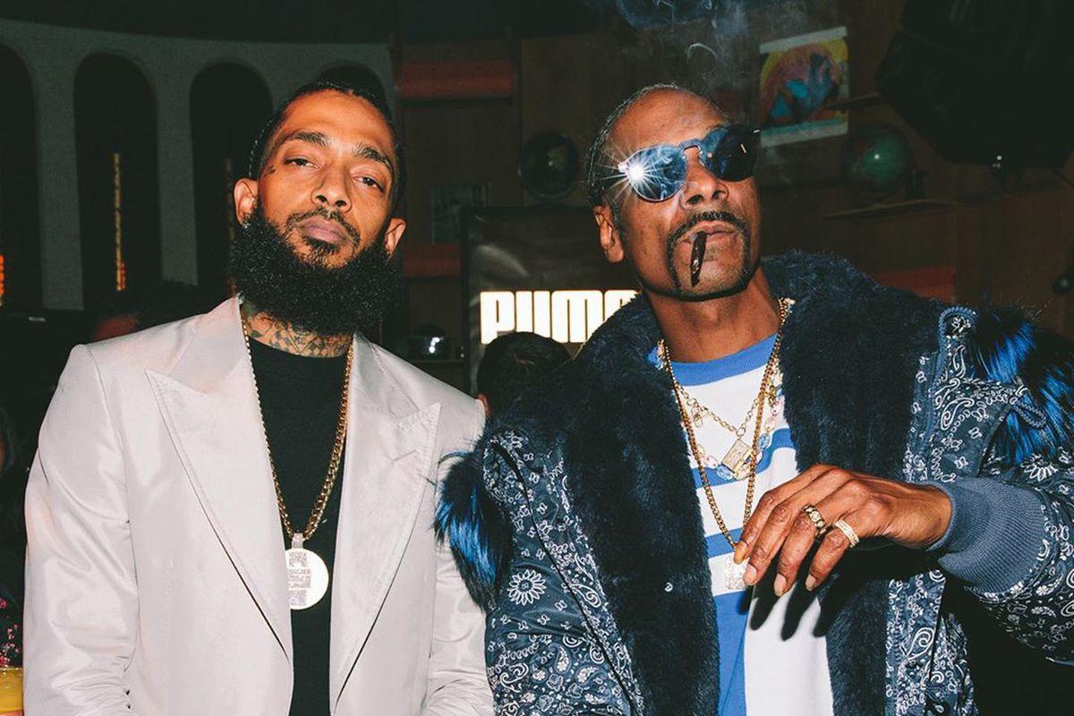Nipsey Hussle and Snoop Dogg