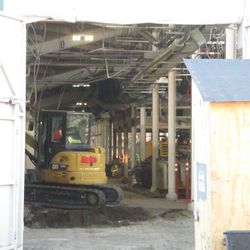 View into the concourse at Gate K on Waveland