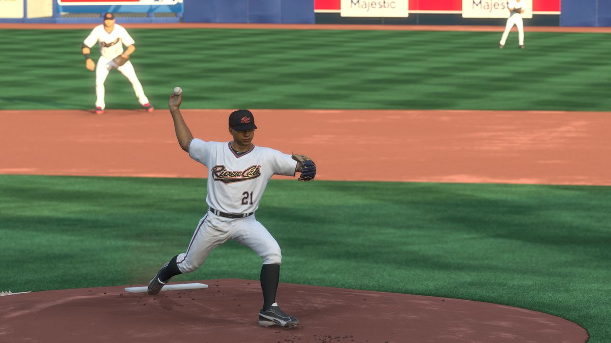 MLB The Show 18 Road to the Show - Samit Sarkar pitching for the Sacramento River Cats